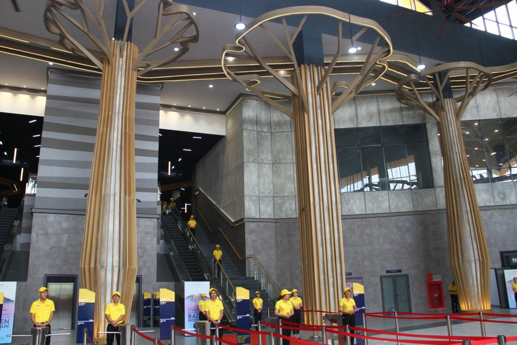 Ba Den - the world's largest cable car station in Tay Ninh